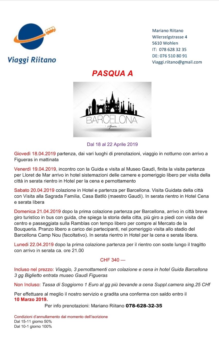 Viaggi Riitano: Barcellona